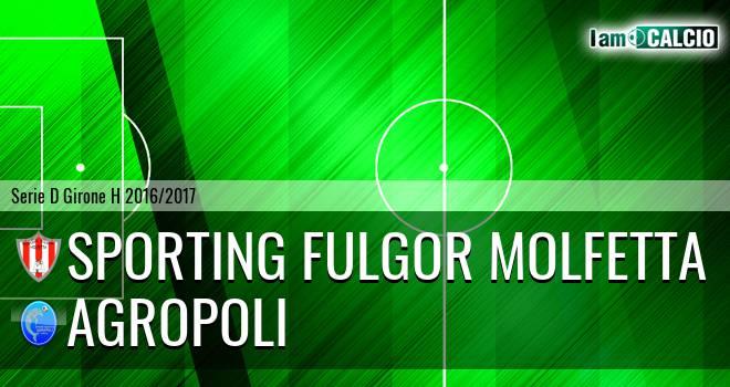 Sporting Fulgor Molfetta - Agropoli