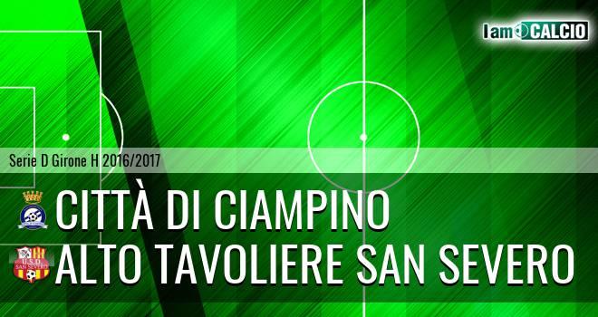 Città di Ciampino - Alto Tavoliere San Severo