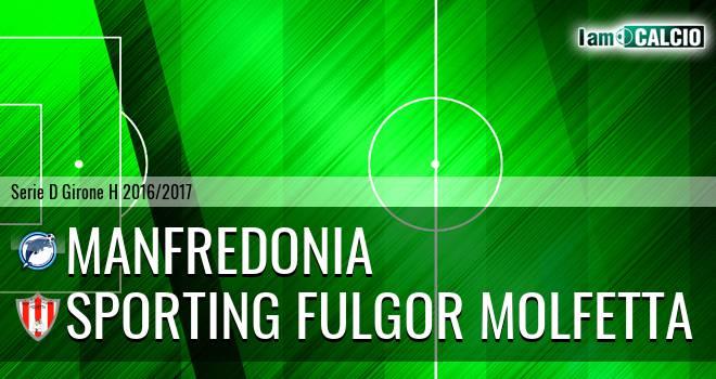 Manfredonia Calcio 1932 - Sporting Fulgor Molfetta