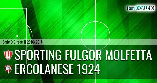 Sporting Fulgor Molfetta - Sporting Ercolano