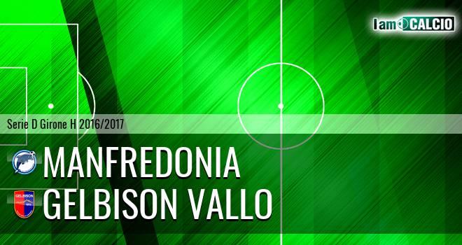 Manfredonia Calcio 1932 - Gelbison Vallo Della Lucania