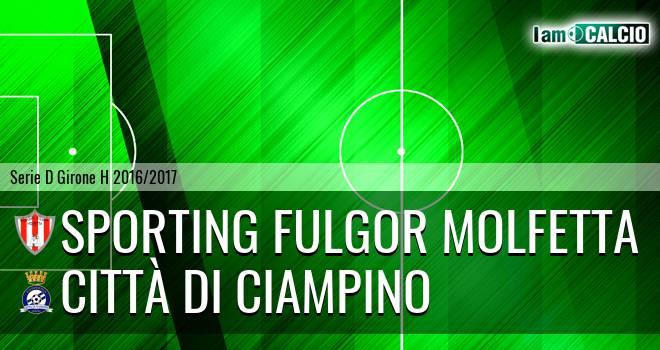 Sporting Fulgor Molfetta - Città di Ciampino