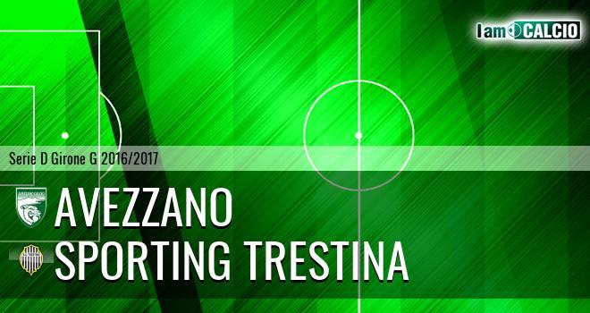 Avezzano - Sporting Trestina