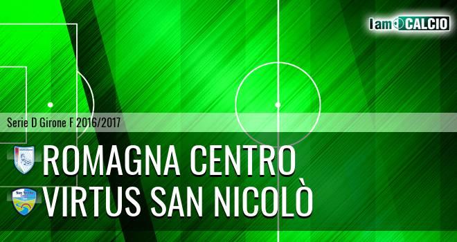 Romagna Centro - Virtus San Nicolò Teramo