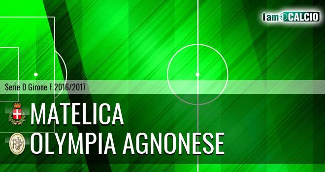 Matelica - Olympia Agnonese