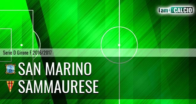 San Marino - Sammaurese