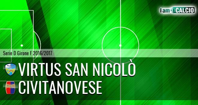 Virtus San Nicolò Teramo - Civitanovese