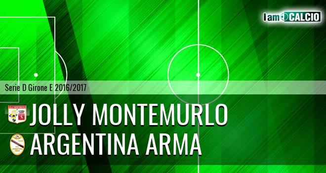 Jolly Montemurlo - Argentina Arma