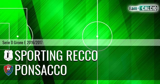 Sporting Recco - Ponsacco