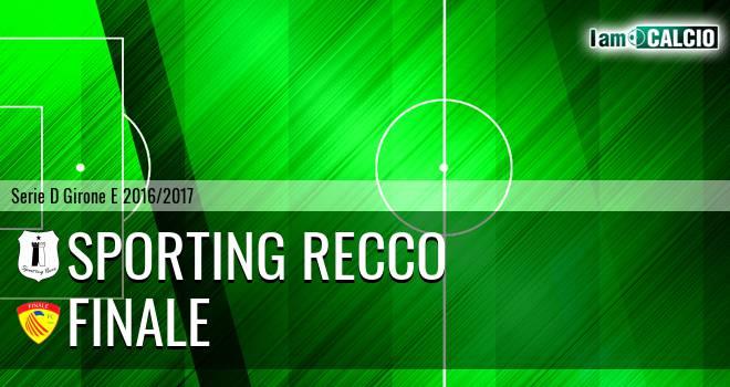 Sporting Recco - Finale