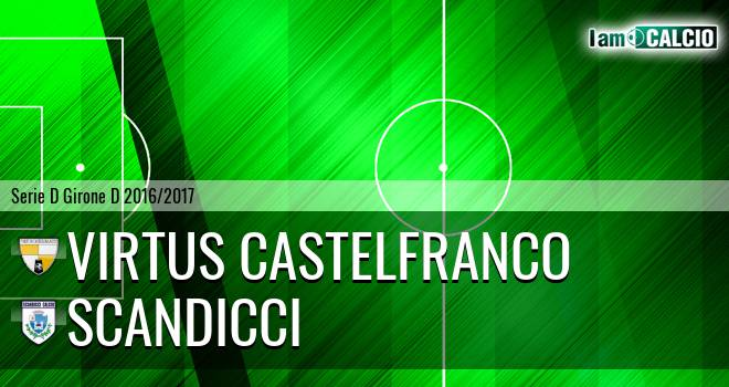 Virtus Castelfranco - Scandicci