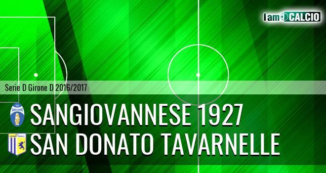 Sangiovannese - San Donato Tavarnelle
