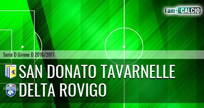 San Donato Tavarnelle - Delta Rovigo