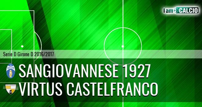 Sangiovannese 1927 - Virtus Castelfranco