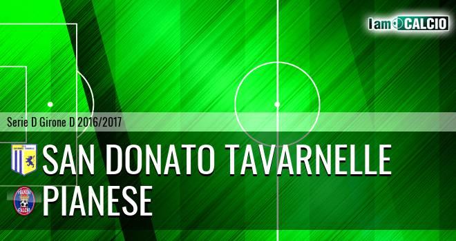 San Donato Tavarnelle - Pianese
