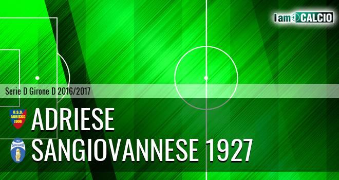 Adriese - Sangiovannese 1927