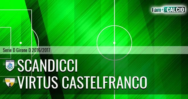 Scandicci - Virtus Castelfranco