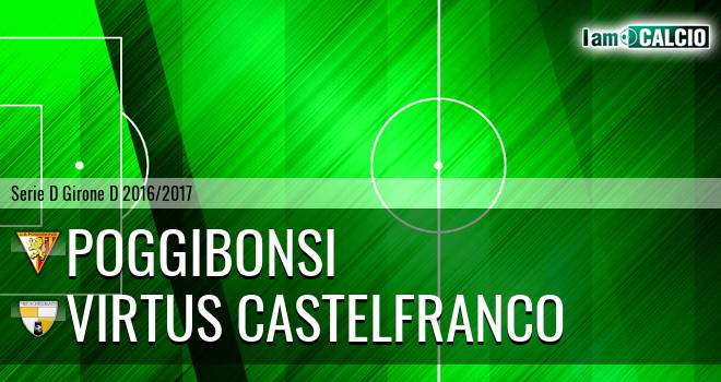 Poggibonsi - Virtus Castelfranco