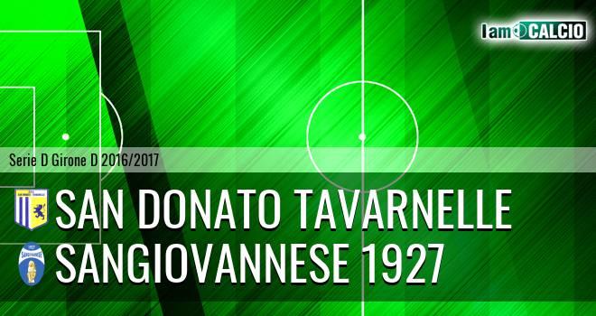 San Donato Tavarnelle - Sangiovannese