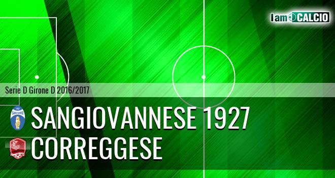Sangiovannese - Correggese