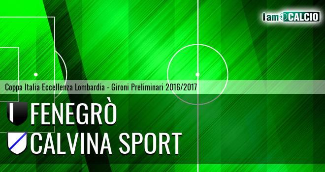 Fenegrò - Calvina Sport