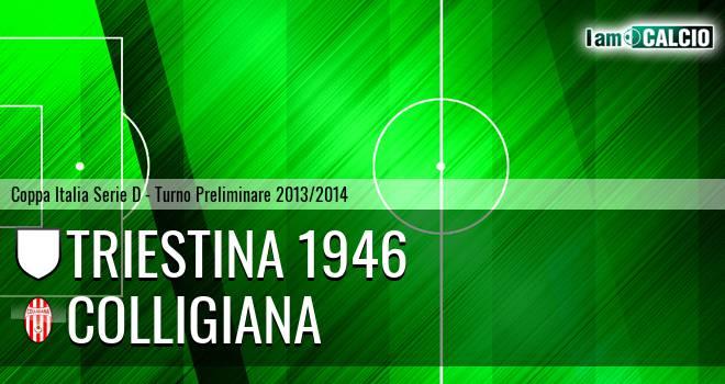 Triestina 1946 - Colligiana