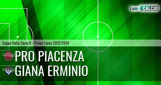 Pro Piacenza - Giana Erminio