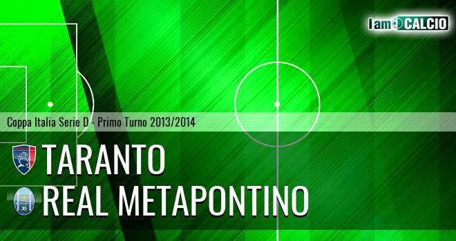 Taranto - Real Metapontino