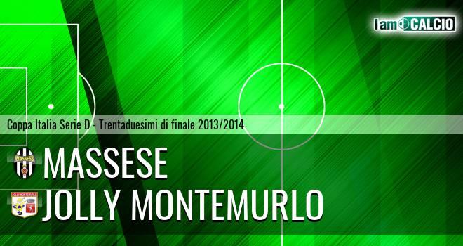 Massese - Jolly Montemurlo
