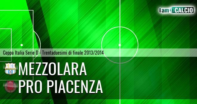 Mezzolara - Pro Piacenza