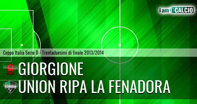 Giorgione - Union Ripa La Fenadora