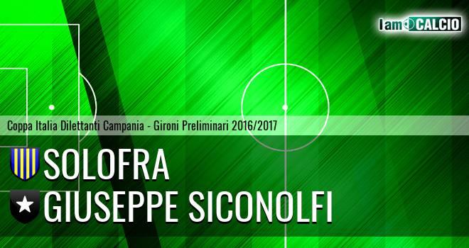 Solofra - Giuseppe Siconolfi
