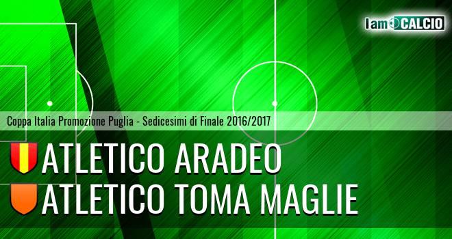Atletico Aradeo - Atletico Toma Maglie