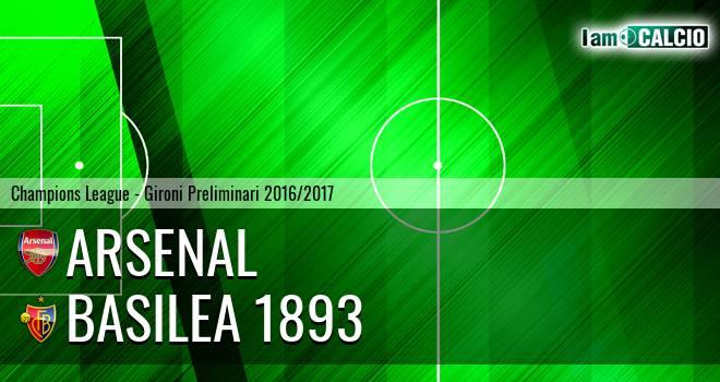 Arsenal - Basilea 1893
