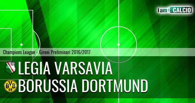 Legia Varsavia - Borussia Dortmund