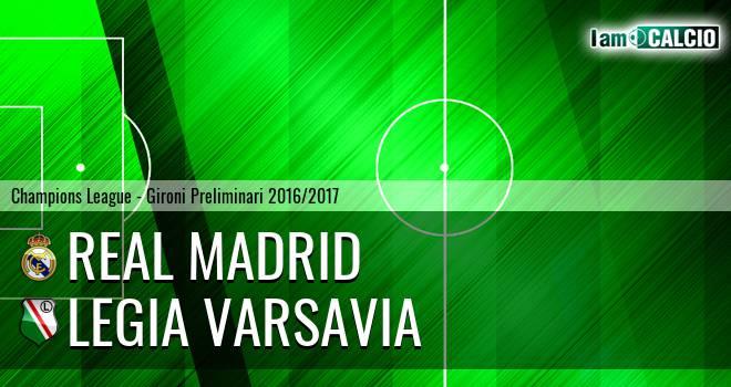 Real Madrid - Legia Varsavia