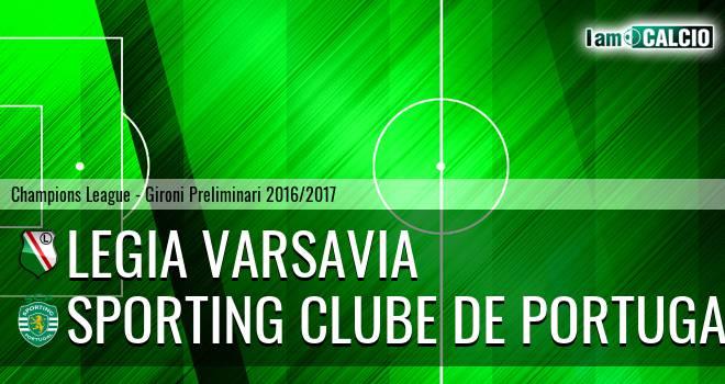 Legia Varsavia - Sporting Clube de Portugal