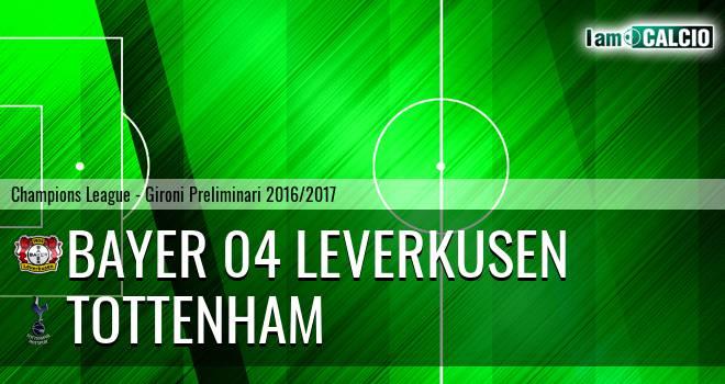 Bayer 04 Leverkusen - Tottenham