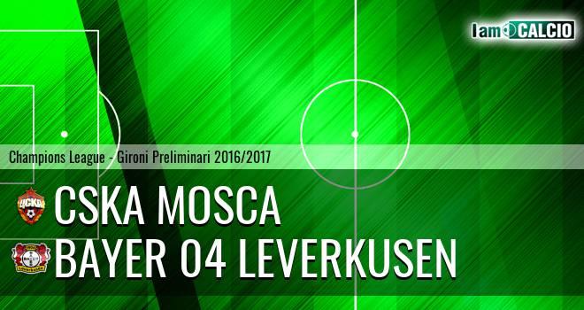 CSKA Mosca - Bayer 04 Leverkusen