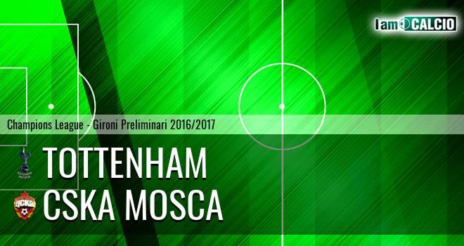 Tottenham - CSKA Mosca