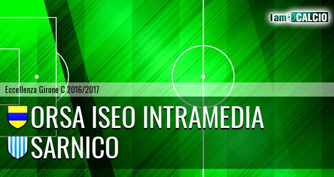 Orsa Iseo Intramedia - Sarnico