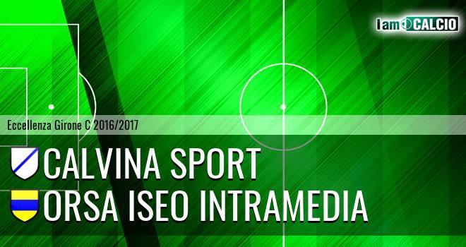 Calvina sport - Orsa Iseo Intramedia