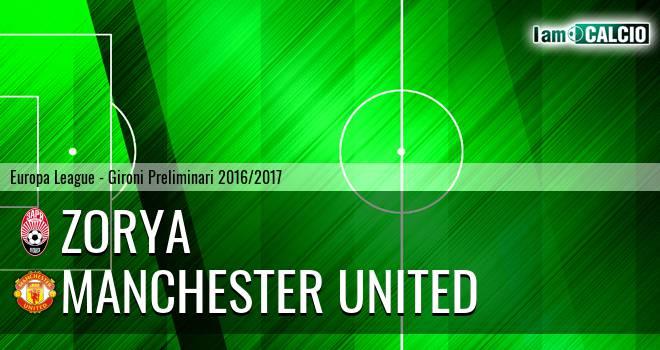 Zorya - Manchester United