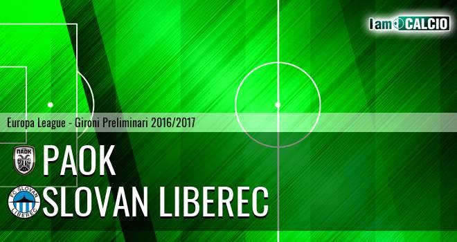 PAOK - Slovan Liberec