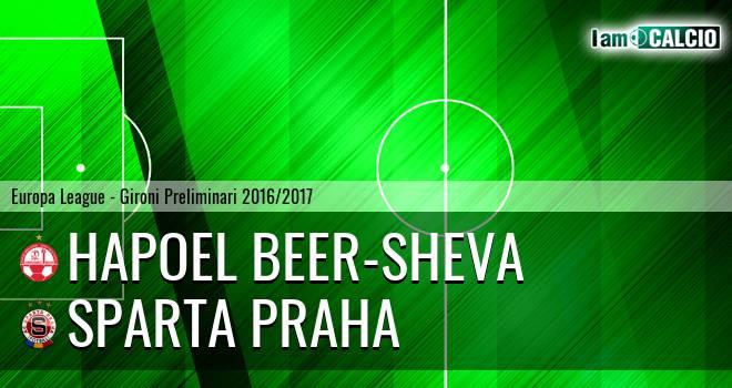 Hapoel Beer-Sheva - Sparta Praga