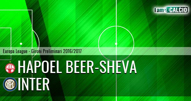 Hapoel Beer-Sheva - Inter