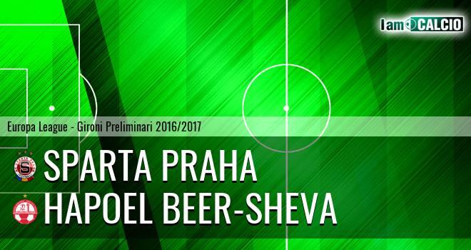 Sparta Praga - Hapoel Beer-Sheva