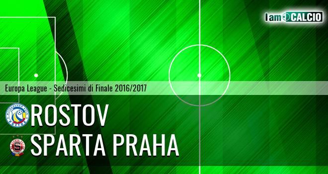 Rostov - Sparta Praga