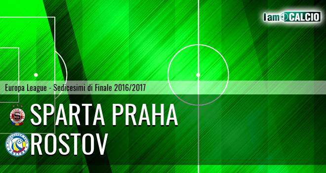 Sparta Praga - Rostov