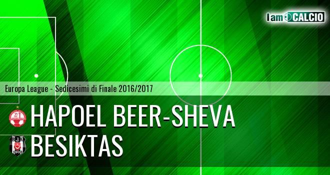 Hapoel Beer-Sheva - Besiktas